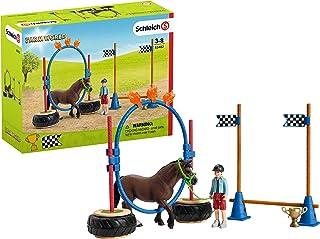 Schleich Pony Agility Race Playset, Multi-Colour, 70552