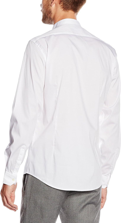 Antony Morato Camicia Smoking Slim Camisa para Hombre: Amazon ...