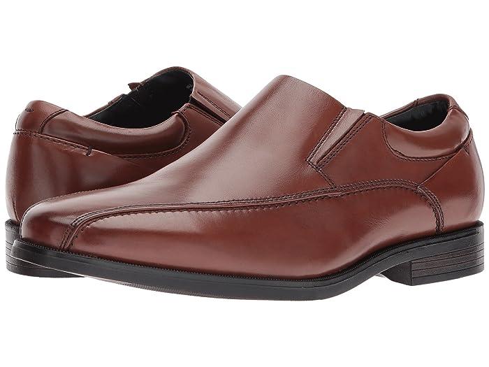 Dockers  Franchise 2.0 Bike Toe Loafer (Whiskey Polished Full Grain) Mens Shoes