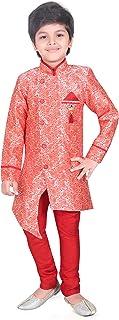 ملابس أطفال إهاء العرقية الهندية الغربية شيرواني وبيجامة للأولاد