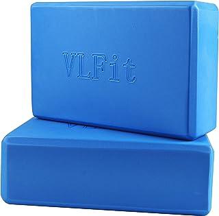 VLFit Juego de 2 Espuma EVA Bloques de Yoga (2 Piezas)