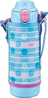 TIGER虎牌 保温瓶 (TIGER) 冷酷 运动水杯 蓝色 虎牌 水壶 500ml 直饮 带水杯 两用 MBO-H050AT 蓝色 500ml MBO-H050AT