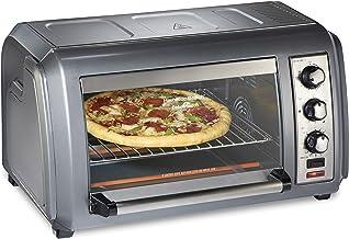 Hamilton Beach Countertop Convection Toaster Oven with Easy Reach Roll-Top Door, 6-Slice,..