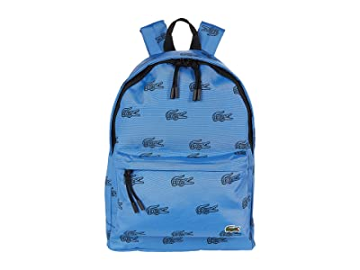 Lacoste All Over Croc Graphic Neocroc Backpack