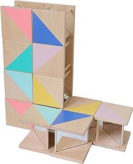 57.5 x 57.5 x 9.5 cm Erzi 51126 Duo Baby Path Mirror Multicoloured