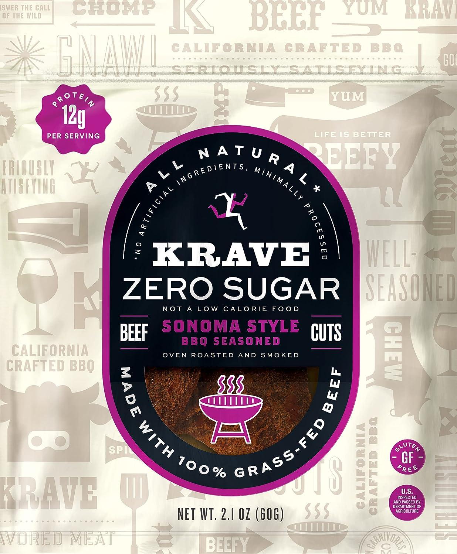 KRAVE Zero Sugar 100% Grass Fed Ranking TOP19 Portland Mall Barbeque Beef 8 Sonoma Jerky P