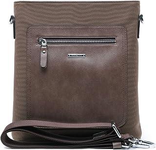VITACCI Classic Shoulder Bag/Leather Shoulder Bag/for Men/Shoulder Strap and top Zip Fastening/Medium TextileShoulder Bag