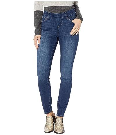 Jag Jeans Macie Skinny Pull-On Jeans (Mid Indigo) Women