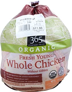 365 Everyday Value, Chicken Whole Fryer Organic Pre-Packed Step 2