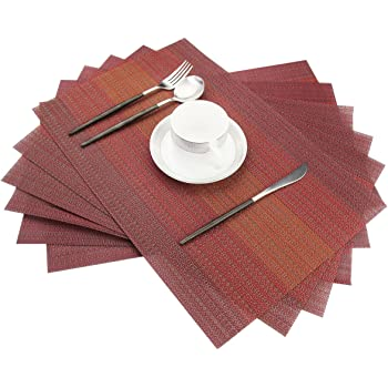 Round Coffee Tea Mug Pot Washable Heat Insulation Placemats Dining Table Mat Q
