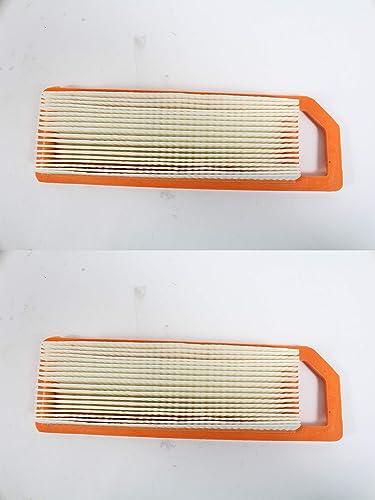 high quality Kawasaki 2 Pack Genuine popular 11029-0017 Air Filter for FJ180V online Short Version OEM outlet online sale