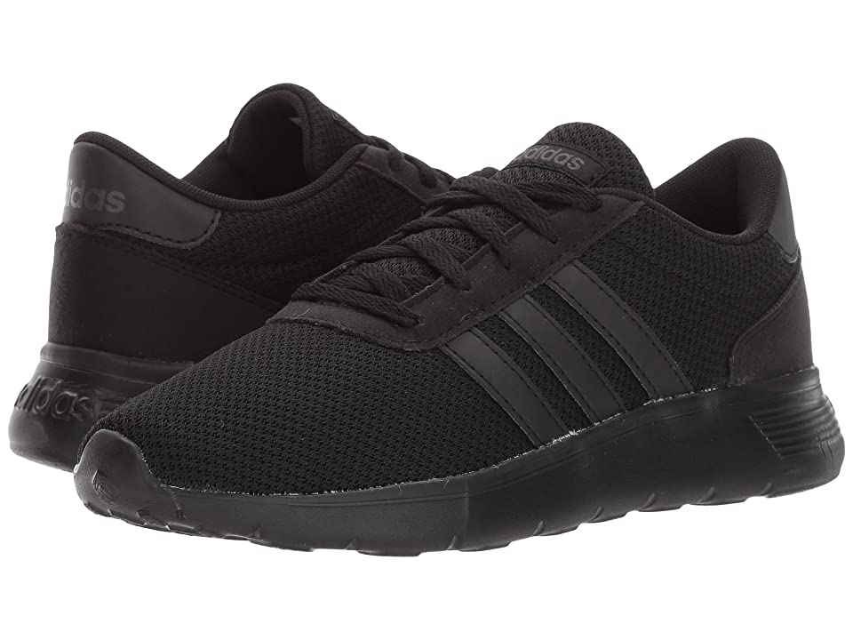 adidas Kids Lite Racer (Little Kid/Big Kid) (Core Black/Core Black/Utility Black) Kids Shoes