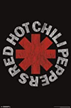 Trends International Red Hot Chili Peppers - Vintage Logo Wall Poster, 22.375
