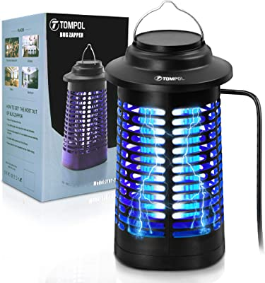 Mosquito Attractant Trap Insects Killer Crio Bug Zapper Indoor and Outdoor Insect Killer Zapper Mosquito Trap XL Bug Zapper Table Top Insect Zapper Fly Trap Outdoor Patio Fly Zapper