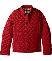 Burberry Kids - Ashurst Quilted Jacket (Little Kids/Big Kids)