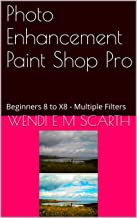 Photo Enhancement Paint Shop Pro: Beginners 8 to X8 - Multiple Filters (Paint Shop Pro Made easy by Wendi E M Scarth Book 128)