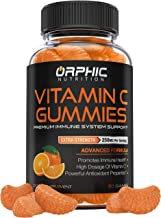 Sponsored Ad - Vitamin C Gummies for Daily Immune Support - Extra Strength 250mg Vitamin C Supplement with Antioxidants fo...