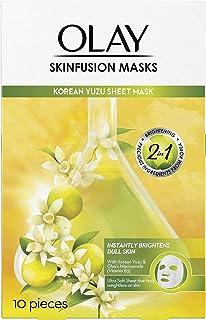 Olay Korean Sheet Face Masks: Yuzu For Brightening, 1 piece