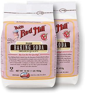 Baking Soda, Gluten Free 2/16oz Bob's Red Mill, Packaging May Vary