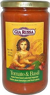 Gia Russa Pasta Sauce Tomato & Basil 24 oz. (Pack of 6)