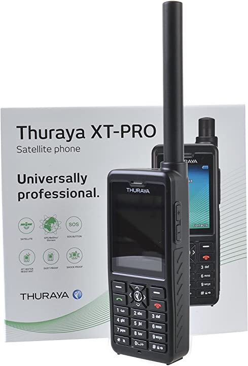 Telefono satellitare thuraya xt pro telefono satellitare by gtc B00XAD2IC2