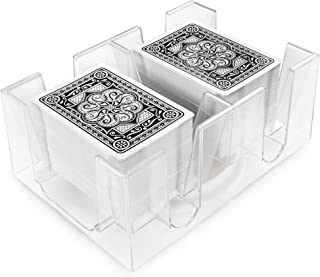Brybelly 6 Deck Rotating-Revolving Card Tray
