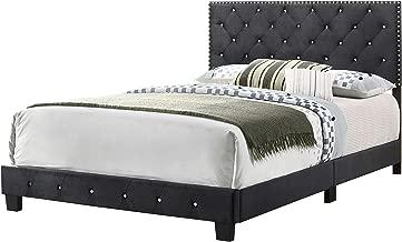 Glory Furniture Suffolk , Black Full Bed, 48