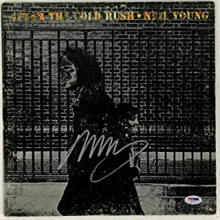 Neil Young Autographed Signed Memorabilia Album After The Gold Rush Autographed Signed Memorabilia PSA/DNA COA [Csny]