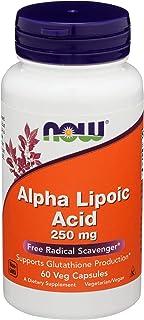 Now Foods, Lipoic Acid 250 Mg, 60 Veggie Capsules
