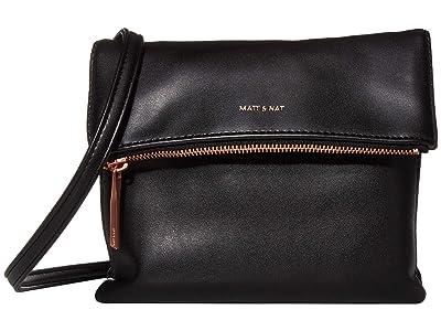 Matt & Nat Loom Hiley (Black/Rose Gold) Handbags