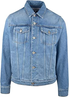 LOEWE Luxury Fashion Mens H2108260IB5100 Blue Jacket | Spring Summer 20
