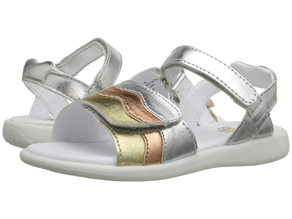 W6YZ Brenda (Toddler/Little Kid) (Metallic Multi) Girls Shoes