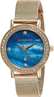 Giordano Analog Blue Dial Women's Watch - 2861-66