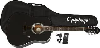 Best black acoustic epiphone guitar Reviews