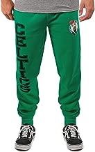 Ultra Game Men's NBA Jogger Pants Active Basic Soft Terry Sweatpants VSF5166M, Boston Celtics, Team Color, X-Large