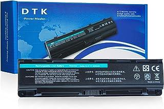 DTK® Batería de repuesto para portátil for Toshiba part number PA5023U-1BRS, PA5024U-1BRS, PA5025U-1BRS, PA5026U-1BRS, PABAS259, PABAS260, PABAS261, PABAS262, 6cells 4400 mAh Satellite L850 Series