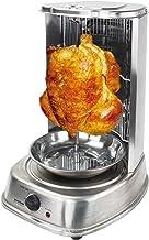Syntrox Germany R-8021 Grill vertical tournant pour kebab / poulet en acier inoxydable
