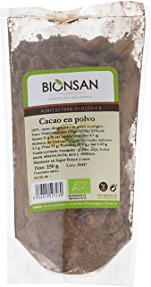Bionsan Cacao en Polvo Ecológico - 6 Bolsas de 250 gr - Total: 1500 gr