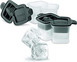 Tovolo Stacked Rocks Ice Molds, Set of 2 Classic Whiskey Rocks Ice Molds, Stackable Ice Molds for Cocktails, Traditional-S...