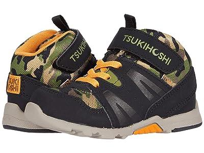 Tsukihoshi Kids Hike (Toddler/Little Kid) (Black/Camo) Boys Shoes
