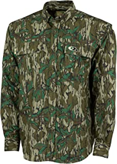Camo Lightweight Hunting Shirts for Men Long Sleeve Camouflage Clothing