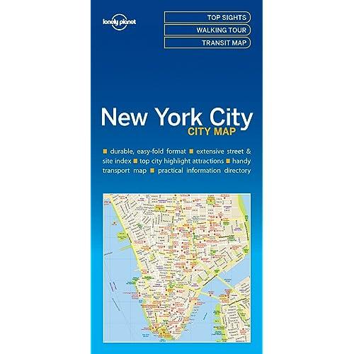 Easy Map Of New York City.New York Map Amazon Co Uk