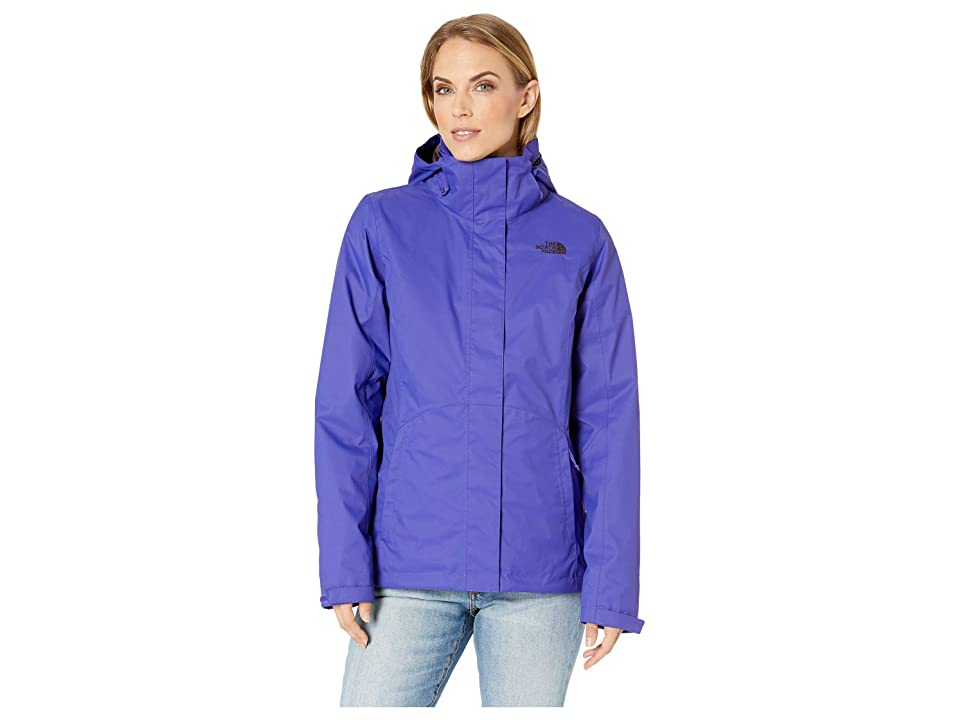 The North Face Mossbud Swirl Triclimate(r) Jacket (Deep Blue/Deep Blue) Women