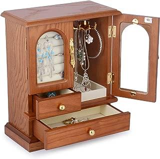 hardwood jewellery box