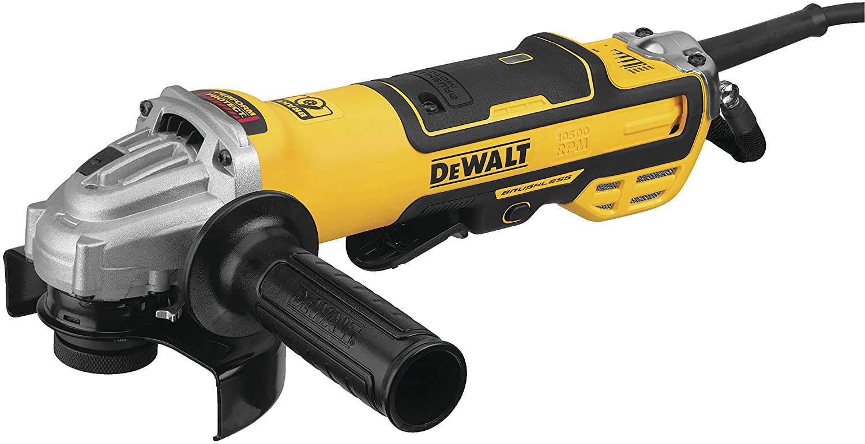 Dewalt Grinder, Variable Speed, Paddle Switch, 5-Inch (Dwe43214Nvs)