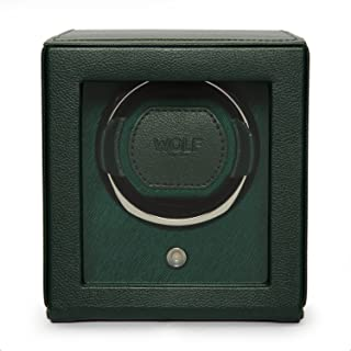 Cub Single Watch Winder with Cover by Wolf