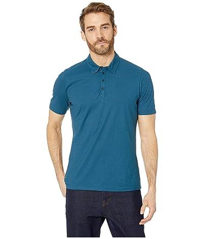 NAU Short Sleeve Basis Polo (Lagoon) Men