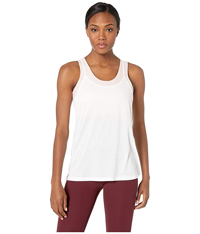SHAPE Activewear Fly Tank (White/Dogwood Heather) Women