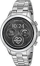 Michael Kors Women's Access Runway Touchscreen Watch with Stainless Steel Strap, SilverTone, 17 (Model: MKT5044)