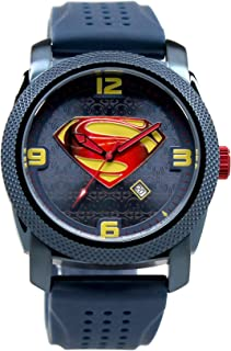 Man of Steel Blue Limited Edition Collection Watch Silicon Band (MOS9034)